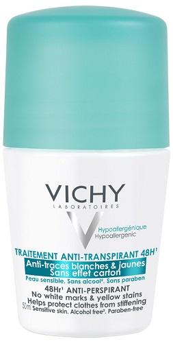 Vichy Deodorante Anti traspirante Roll on 50 Ml