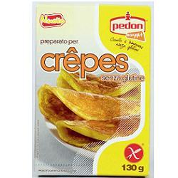 Pedon Easyglut Preparazione Senza Glutine Crepes 130 G