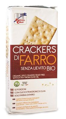 Fsc Crackers Di Farro Senza Lievito Con Olio Extravergine Di Oliva Bio 280 G