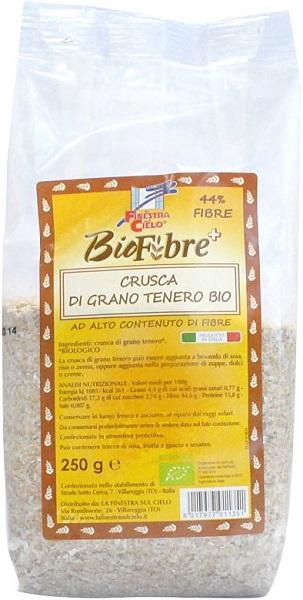 Fsc Biofibre+ Crusca Di Grano Tenero Bio Ad Alto Contenuto Di Fibra 250 G