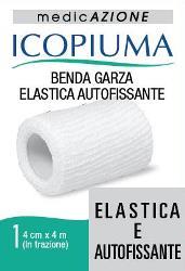 Desa Pharma Benda Garza Elastica Icopiuma Autofissante Cm 4 X 4 Mt