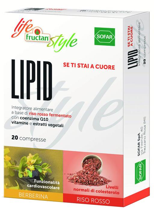 Sofar Fructan Lipid 20 Compresse