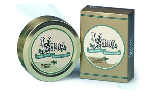 Valda Classiche scatola Metallo Pastiglie gommose con zucchero 50 G
