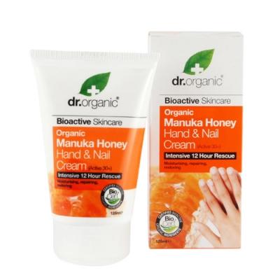 Dr Organic Manuka Honey Miele Di Manuka Hand Nail Cream Crema Mani 125 Ml