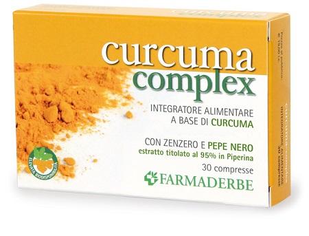 Farmaderbe Curcuma Complex 30 Compresse