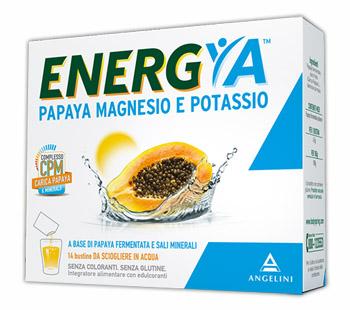 Angelini Energia Papaya Magnesio Potassio 14 Bustine
