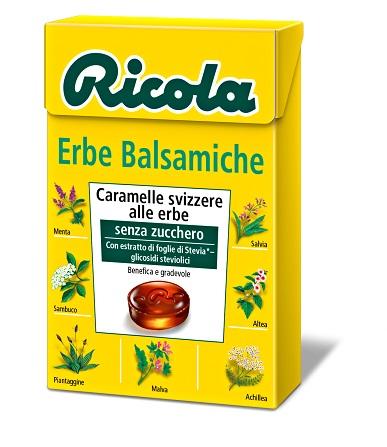 Ricola Ag Ricola Erbe Balsamiche Senza Zucchero 50 G