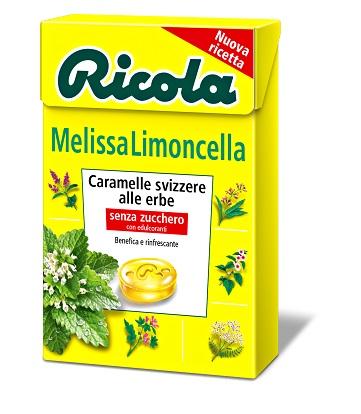 Ricola Ag Ricola Melissa Limoncella Senza Zucchero 50 G