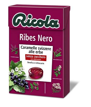 Ricola Ag Ricola Ribes Nero Senza Zucchero 50 G