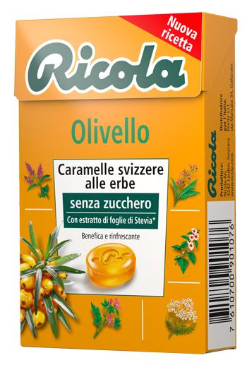 Ricola Ag Ricola Olivello Spinoso Senza Zucchero 50 G