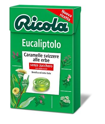 Ricola Ag Ricola Eucaliptolo Senza Zucchero 50 G