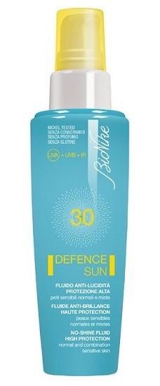 Bionike Defence Sun 30 Fluido Anti Lucidita' Protezione Alta 50 Ml
