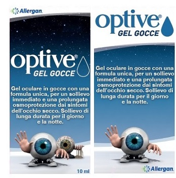 Allergan Optive Gel Oculare In Gocce 10 Ml