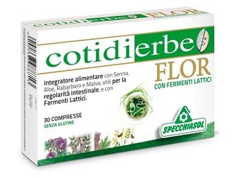 Specchiasol Cotidierbe Flor 30 Compresse