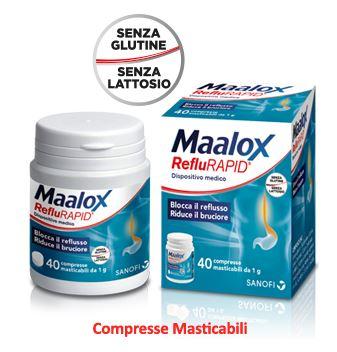 Sanofi Maalox Reflurapid 40 Compresse Promo