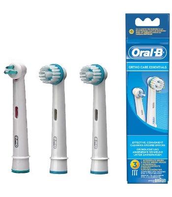 Procter & Gamble Oralb Orthocare Essentials 3 Pezzi