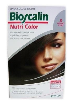 Bioscalin Tinta Capelli Nutri Color 3 Castano Scuro 124 Ml