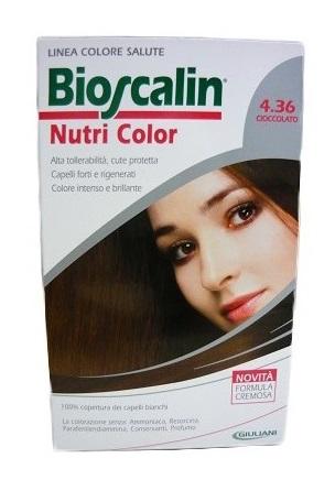 Bioscalin Linea Tinta Nutri Color 4.36 Cioccolato Sincrobiogenina 124 Ml