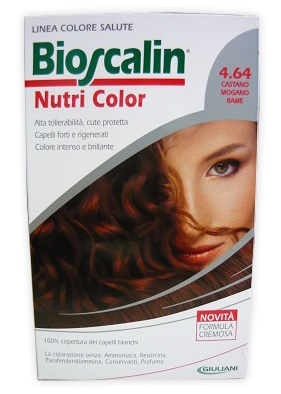 Bioscalin Tinta Capelli Nutri Color 4.64  Casmir (Castano Mogano Rame) 124 Ml