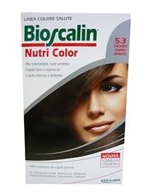 Bioscalin Tinta Capelli Nutri Color 5.3 Castano Chiaro Dorato 124 Ml