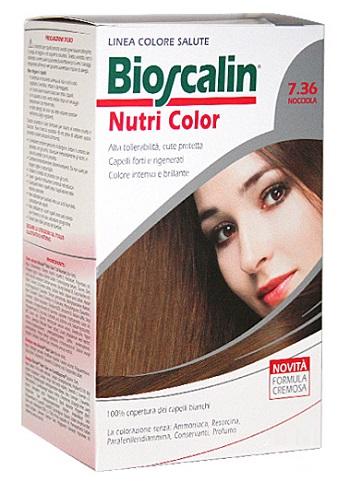 Bioscalin Linea Tinta Capelli Nutri Color 7.36 Nocciola Sincrobiogenina 124 Ml
