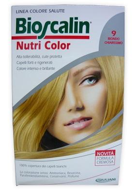 Bioscalin Linea Tinta Capelli Nutri Color 9 Biondo Chiarissimo SincroB 124 Ml