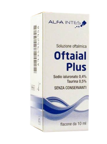 Soluzione Oftalmica Oftaial Plus Acido Ialuronico 0 4 E Taurina 10ml