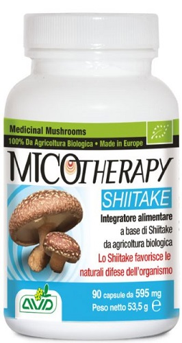 A.v.d. Reform Micotherapy Shiitake 90 Capsule Flacone 53,50 G