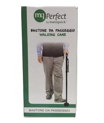 Sanico Mq Perfect Bastone Da Passeggio Alluminio Leggero Base Largaled Luminoso