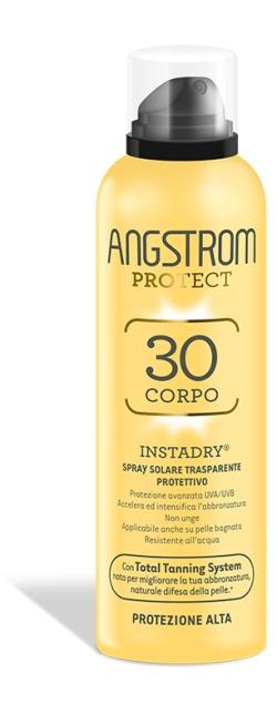 Angstrom Protect Instadry Spray Trasparente Solare Protezione 30 150 Ml