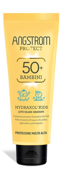 Angstrom Protect Hydraxol Kids Latte Solare Ultra Protezione 50+ 125 Ml
