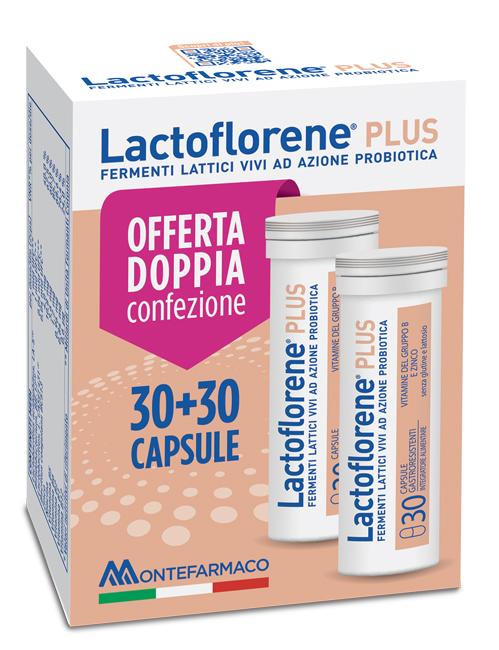 Lactoflorene Plus Bipack 30 Capsule 26 40 G