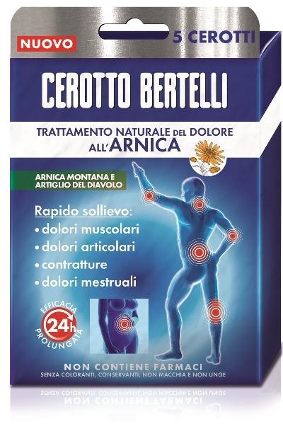 Kelemata Bertelli Cerotto Arnica Astuccio 5 Pezzi