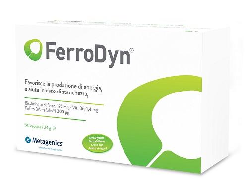 Metagenics Belgium Bvba Ferrodyn Hi 30 Capsule