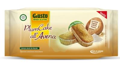 Giuliani Giusto Senza Glutine Plumcake All avena 180 G