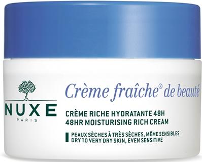 Nuxe Creme Fraiche De Beaute Riche Creme Nourissante Hydratante 48 H 50 Ml