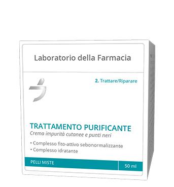 Laboratorio Della Farmacia Crema Trattamento Purificante 50 Ml
