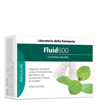 Laboratorio Della Farmacia Ldf Fluid 600 10 Bustine