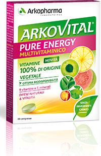 Arkofarm Arkovital Pure Energie 30 Compresse