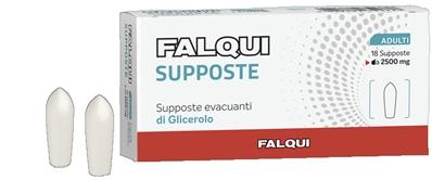 Falqui Supposte Falqui 18 Supposte Con Glicerina 2500mg Adulti