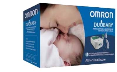 Omron Nebulizzatore Omron Duo Baby Con Aspiratore Nasale