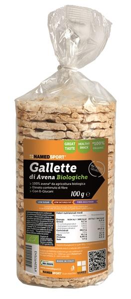 Named Sport Gallette 100% Avena Bio 100 G