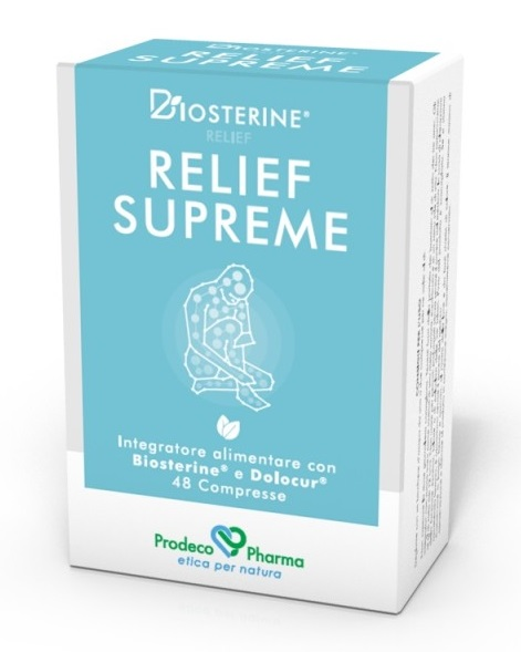 Prodeco Pharma Biosterine Relief Supreme 48 Compresse