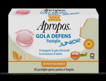Desa Pharma Apropos Gola Defens Pastiglie Junior Panna fragola
