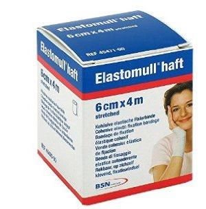 Benda Elastica Autoadesiva Elastomull Haft Compressione Forte 6x400 Cm