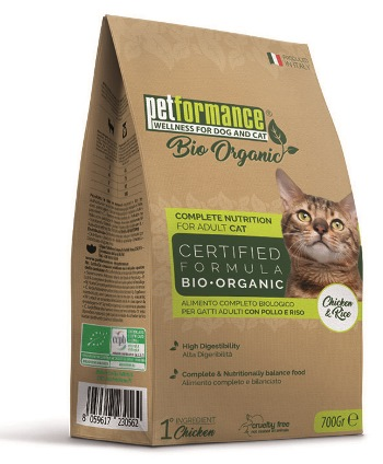 Liquid Wellness Company Petformance Bio Crocchette Pollo E Riso Gatto 700 G