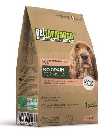 Liquid Wellness Company Petformance No Grain Crocchette Salmone Cane 1 5 Kg