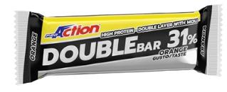 Proaction Pro Muscle Double Bar 31% Arancia Caramello 60 G Scad. 04/06/19