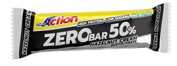 Proaction Zero Bar 50% Crema Di Nocciole 60 G Scad. 31/07/19