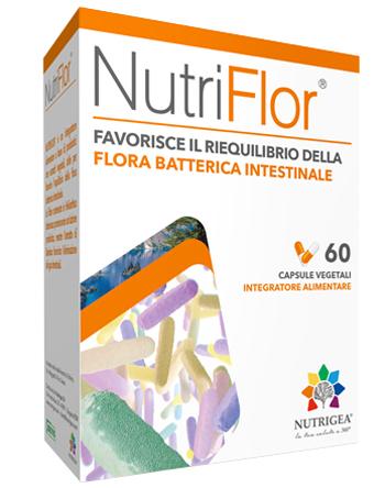 Nutrigea Research Nutriflor Blister 60 Capsule Astuccio 30 9 G Nuova Formula